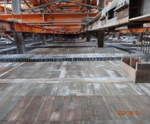 4筏基層BS版模板組立