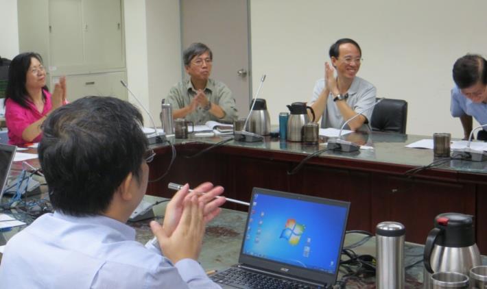 101年度歡迎本處廉政會報會議外聘委員─特聘羅前副局長俊昇擔任
