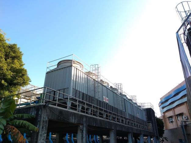 玉成抽水站-冷卻水塔