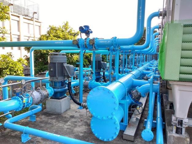 玉成抽水站-冷卻水系統