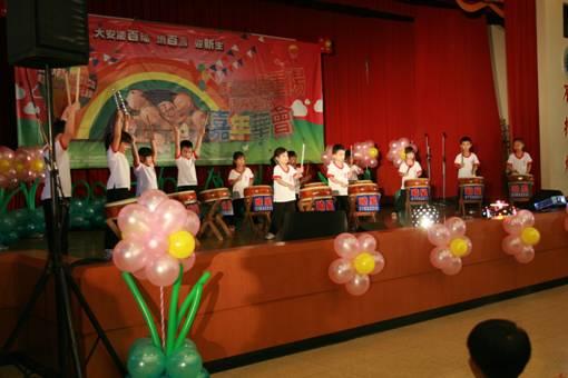 曉星幼稚園用響亮的鼓聲,帶給我們一個活潑又歡樂的開場照片