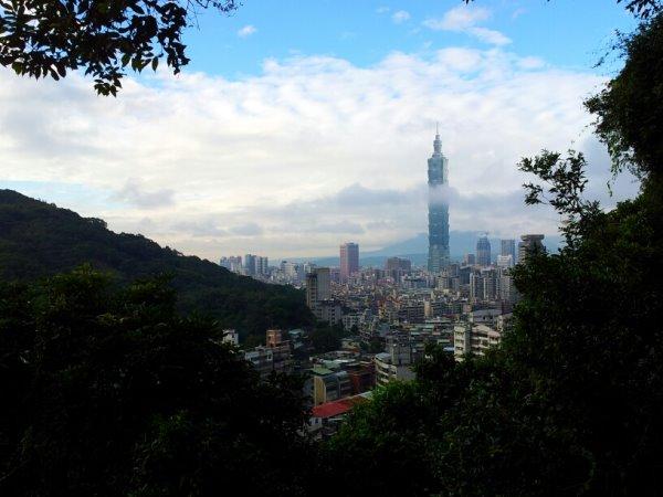 糶米古道眺望台北101視野佳