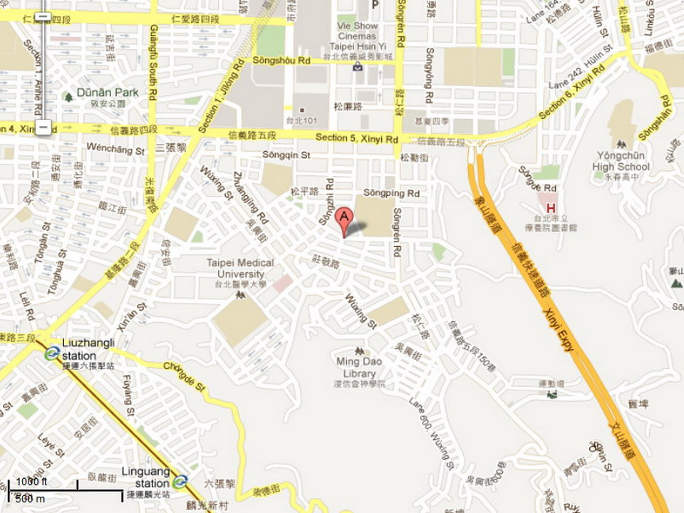 Location of Land Development Agency, Taipei City Government