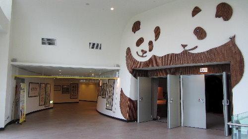 特展館國際會議廳迎賓處