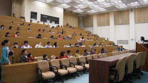 演講廳座位席