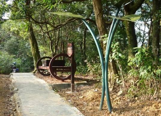 舌狀鼓座椅及葉形雨盤