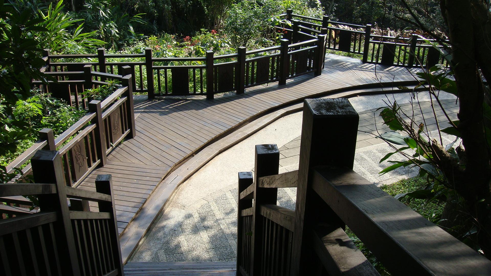 劍南蝶園蜜園植物區