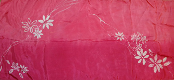 Tea Dyeing Silk Scarf-2