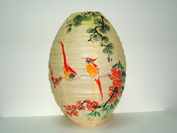Plum Blossoms and Birds Lantern