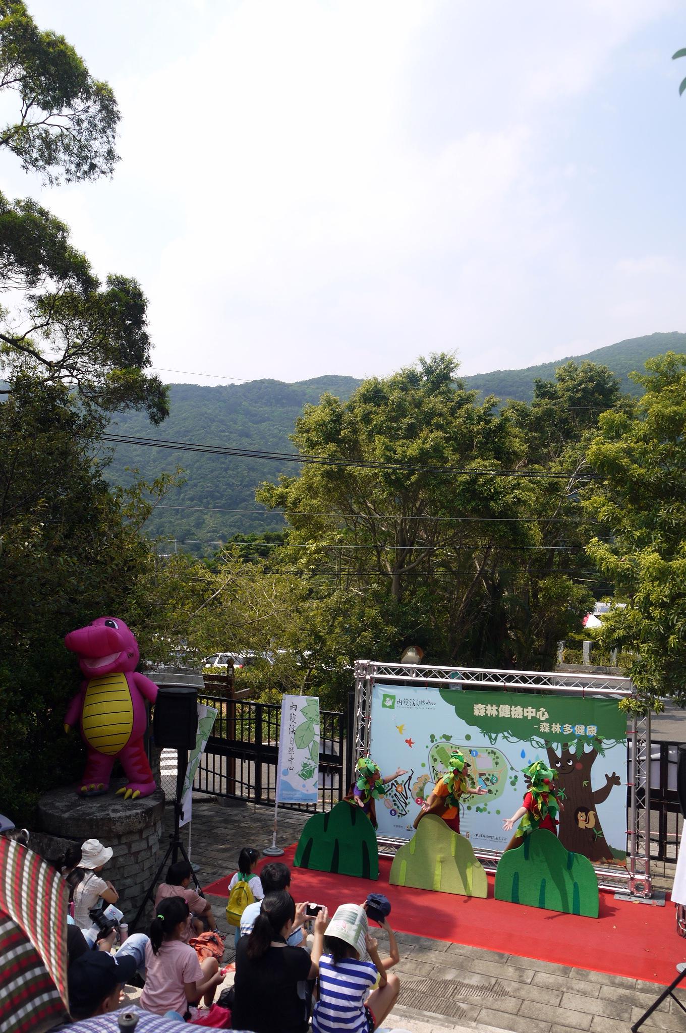 森林小劇場裡看看森林裡的樹木在想些甚麼?
