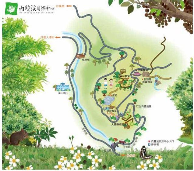 內雙溪自然中心交通資訊