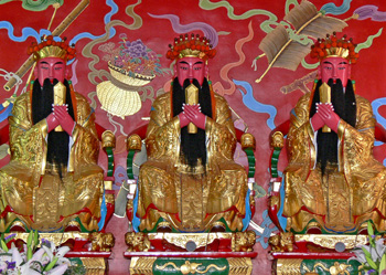 三官大帝(三界公)神像