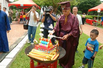 祭祀儀式中的望燎儀式