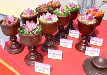 臺北市孔廟春祭儀典中的精緻祭品