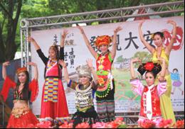 「發現大安心活力」主場秀新移民舞蹈表演