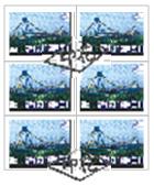 (6)上面4枚稅票未與下面稅票連綴處銷印,亦未與憑證紙面騎縫處銷印。不合法之註銷