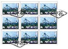 (8)右下角稅票 1 枚漏未銷印;左上角4枚稅票,未與相鄰稅票連綴處銷印, 又未與憑證紙面騎縫處銷印。不合法之註銷