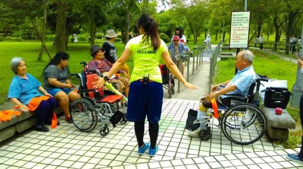 活動內容特別針對輪椅族貼心設計