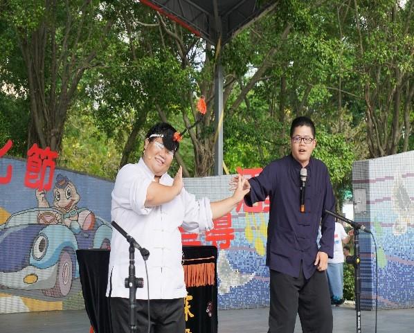 走讀大安文化節成果發表相聲演出