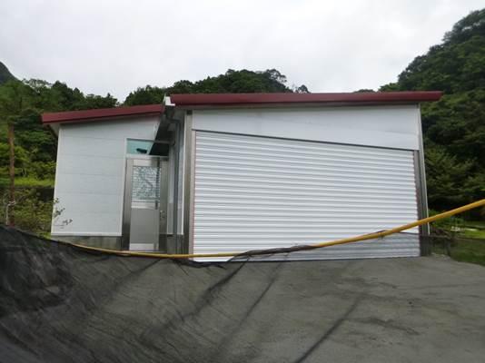 農業資材室1棟,寬約7.51公尺