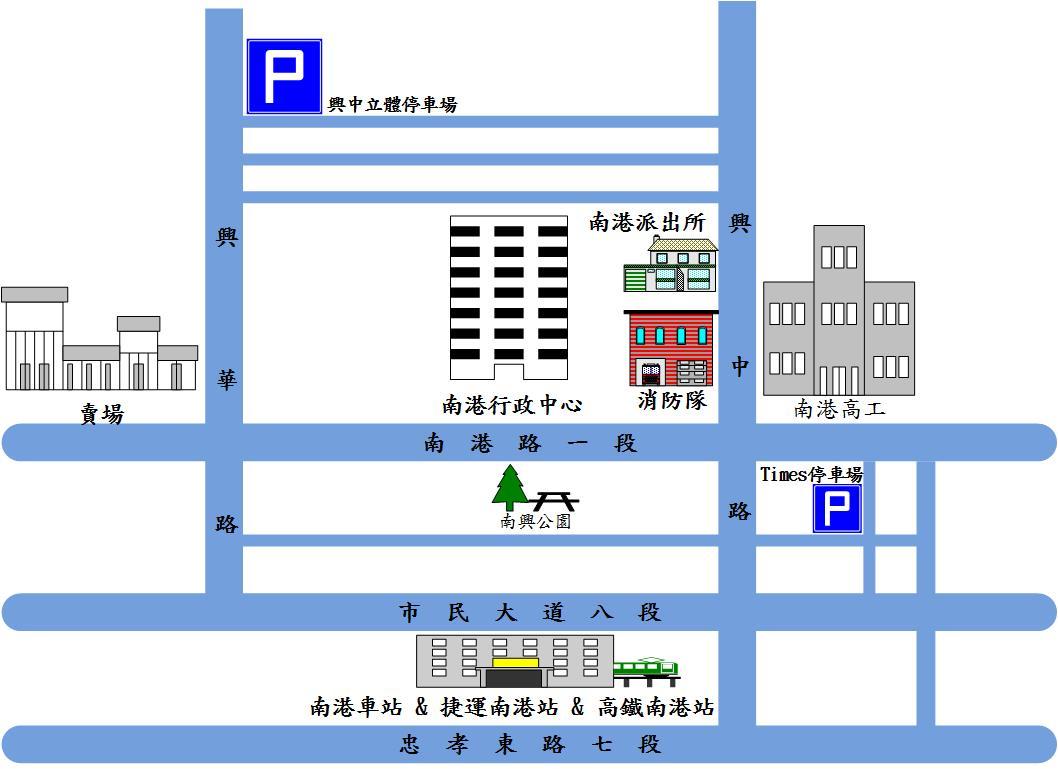 公所位置圖