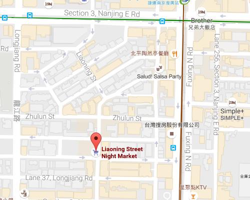 open MAP-Liaoning Street Night Market
