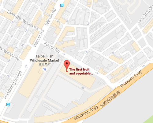 open MAP-First Fruit and Vegetable Wnolesale Market