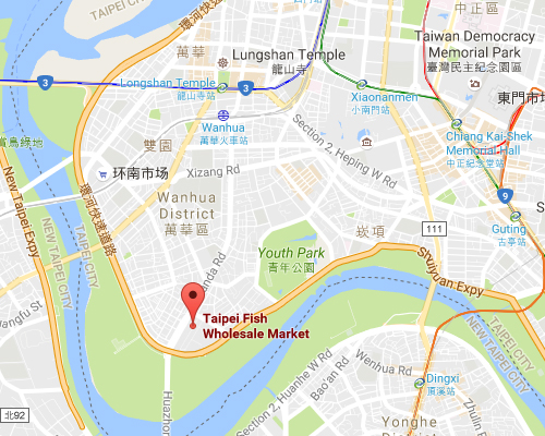 open MAP-Taipei City Fish Wholesale Market