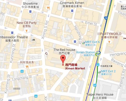 open MAP-Ximen Market