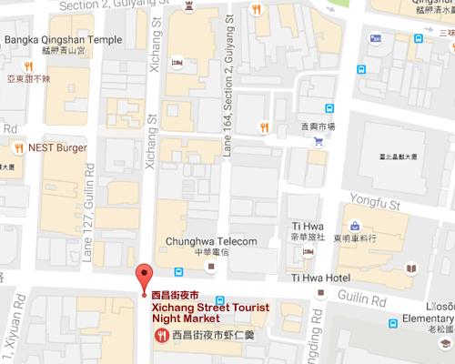 open MAP-Xichang Street Tourist Night Market
