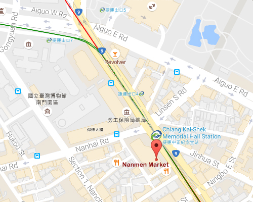 open MAP-Nanmen Market