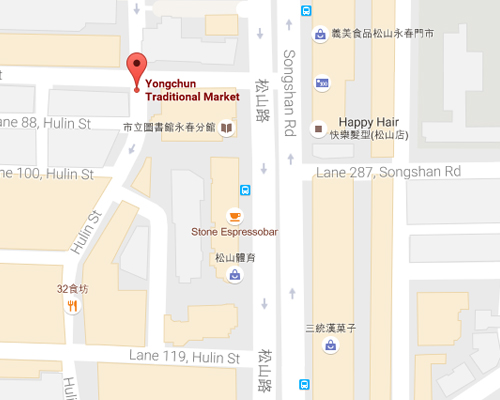 open MAP-Yongchun Market