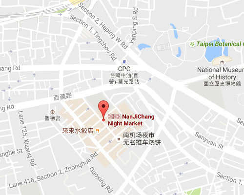 open MAP-Nanjichang Night Market