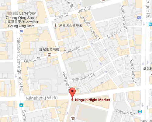 open MAP-Ningxia Tourist Night Market
