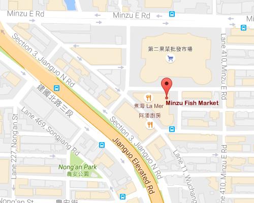 open MAP-Minzu Fish Market