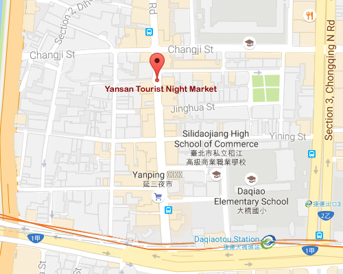 open MAP-Yansan Tourist Night Market