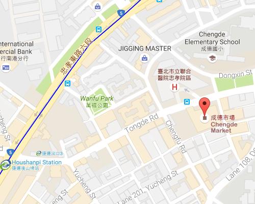 open MAP-Chengde Market