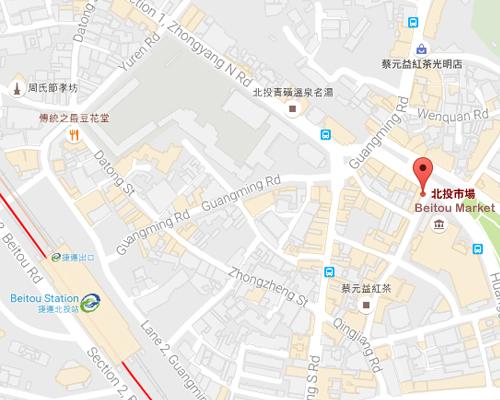 open MAP-Beitou Market