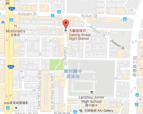 open MAP-Dalong Street Night Market