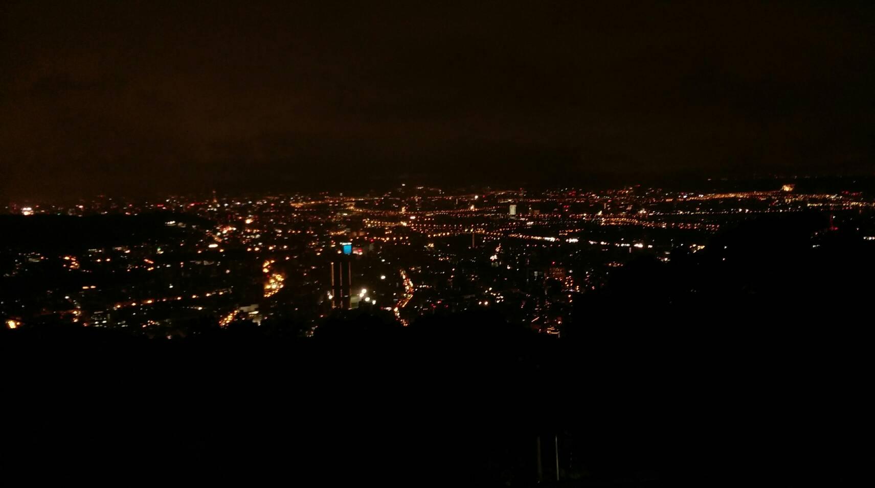 圖7、情人坡夜景