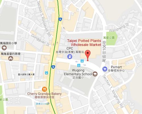 open MAP-Taipei Potted Plants Wholesale Market