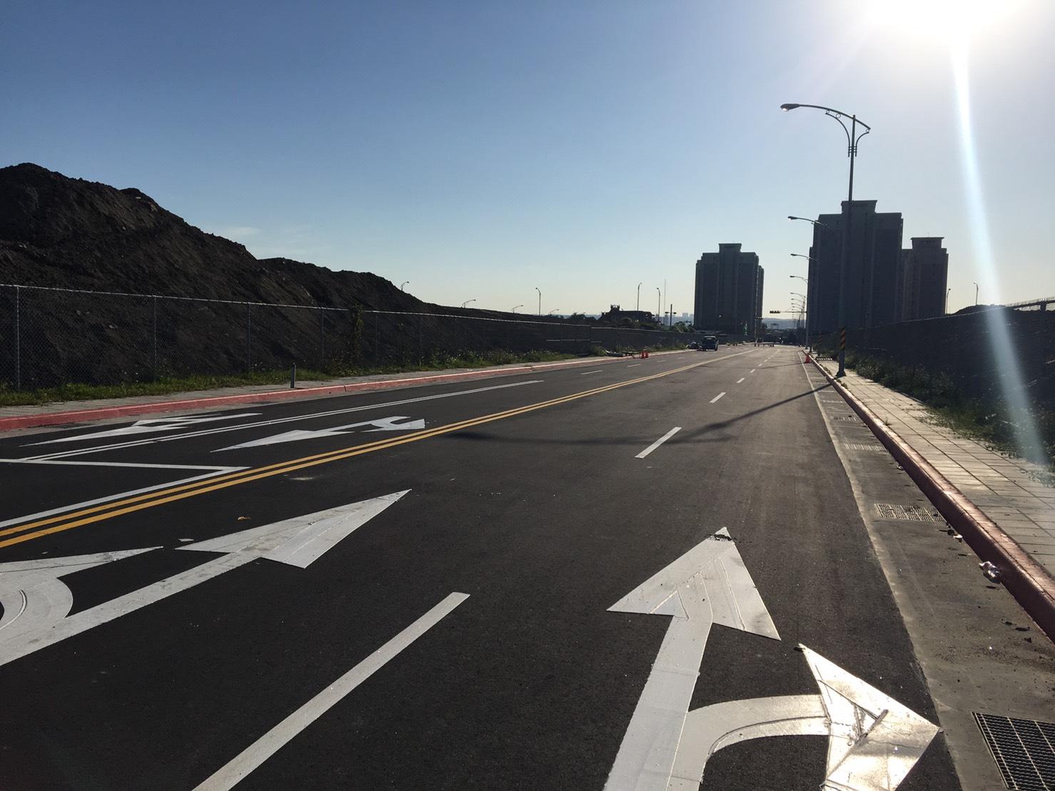 北投士林科技園區2期工程現場照片-西基地X10道路