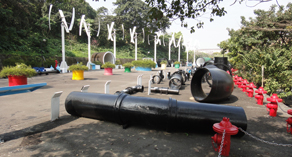 輸配水器材展示區