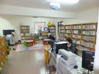 南機場_服務臺及閱覽區