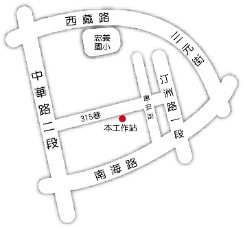 南機場_位置圖