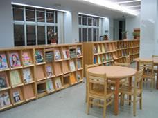西湖1樓期刊區 照片