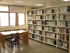 西園6樓一般圖書區照片