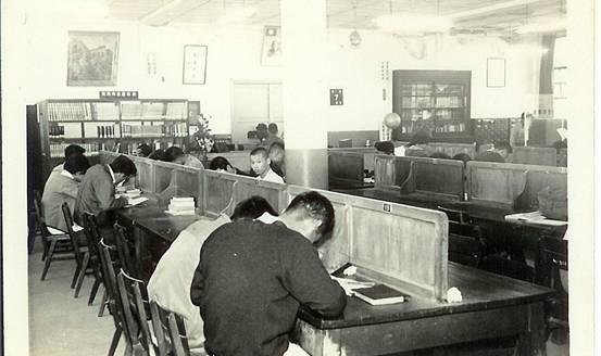 民國47年城北分館於甘州街擴建館舍