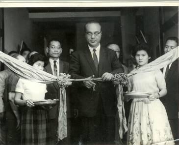 民國49年4月11城西分館新建館舍開幕