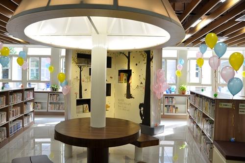 民國101年12月6日百齡智慧圖書館啟用